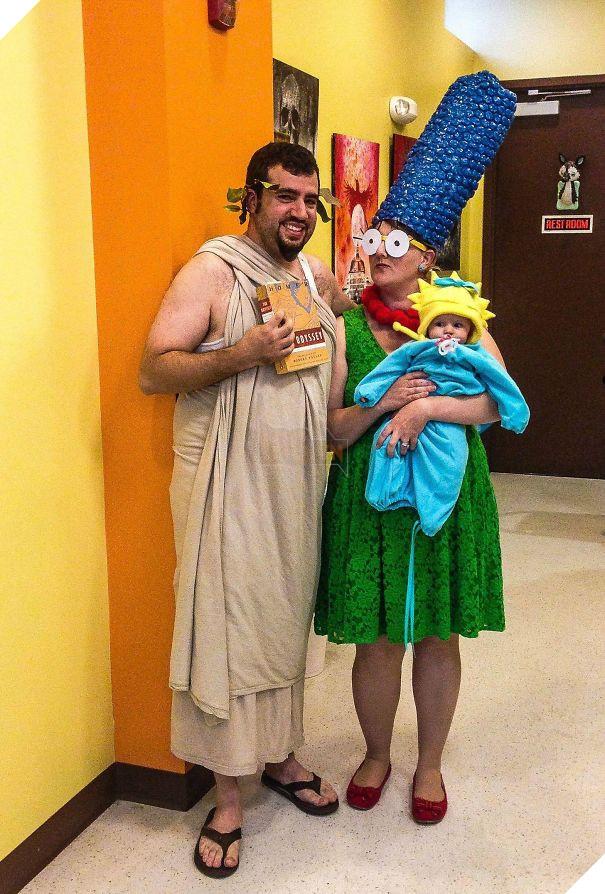 She Said I Should Dress-Up Like Homer