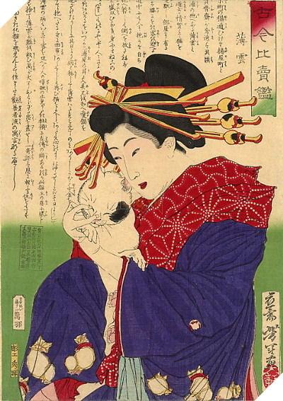 Image result for Maneki Neko usugumo
