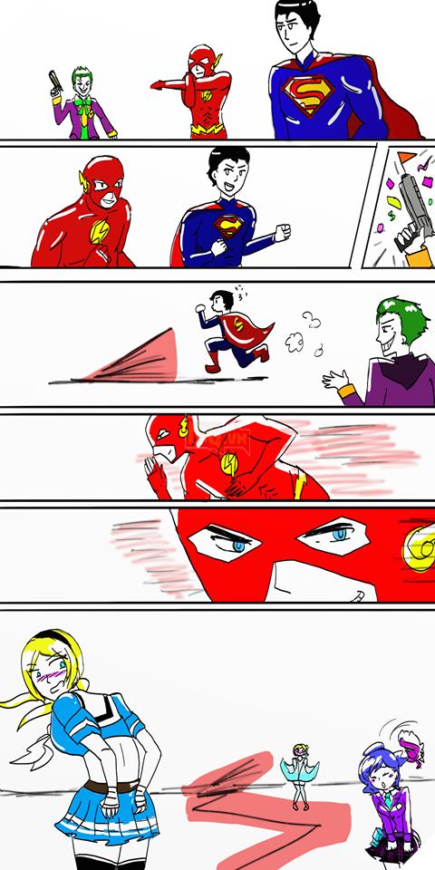 The Flash với cú chạy có vận tốc ánh sáng đã làm... tốc váy khá nhiều người.