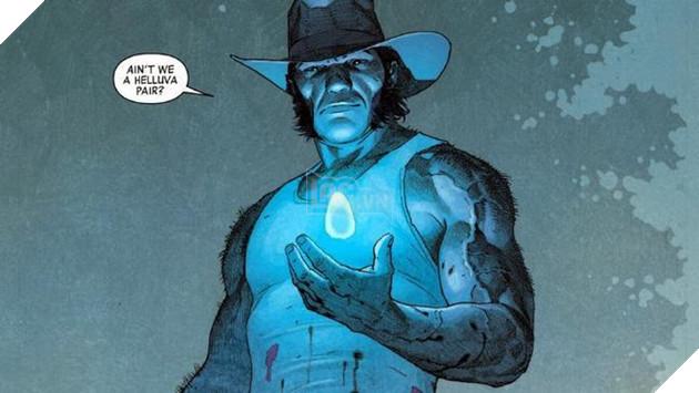 Bất ngờ chưa, Wolverine đã quay lại cùng Viên đá Không gian (Trong truyện)