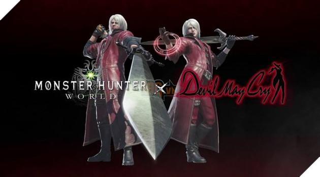 Monster Hunter World: Hé lộ sự kiện nhận trang phục Devil May Cry