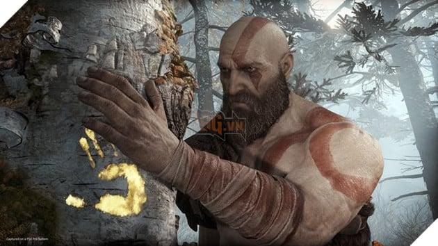 Kratossử dụng gỗ từ thân cây màFayeđã đặt bùa bảo vệ để làm giàn hỏa thiêu