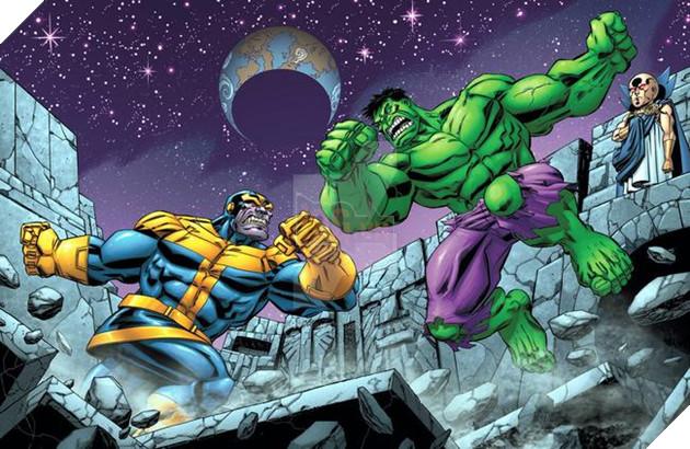 Vốn dĩ là hai thực thể hùng mạnh, Thanos và Hulk chắc hẳn sẽ có dịp đối mặt với nhau trên màn ảnh