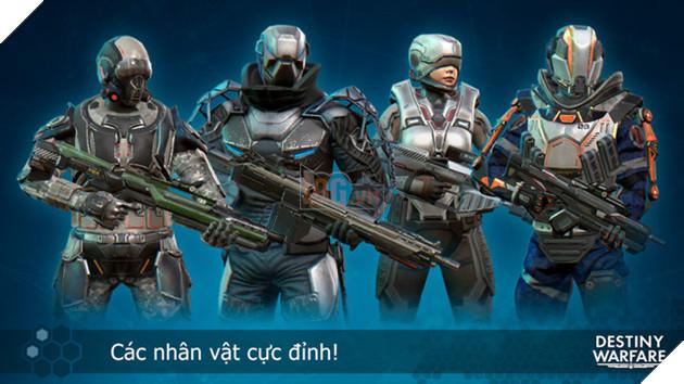 Game thủ Việt đã có thể tải Destiny Warfare - FPS đấu mạng đồ họa đẹp