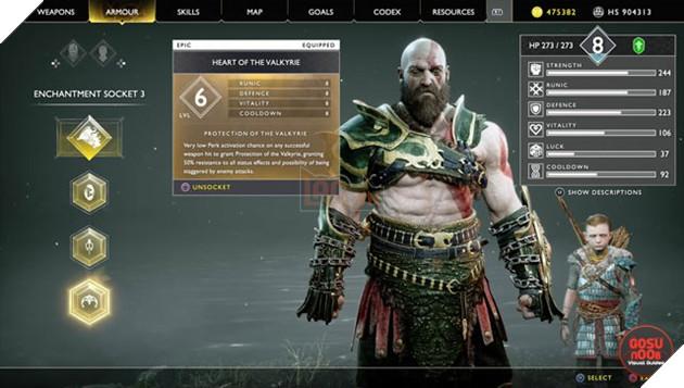 God of War: Tổng hợp những Enchantment tốt nhất bạn nên sở hữu