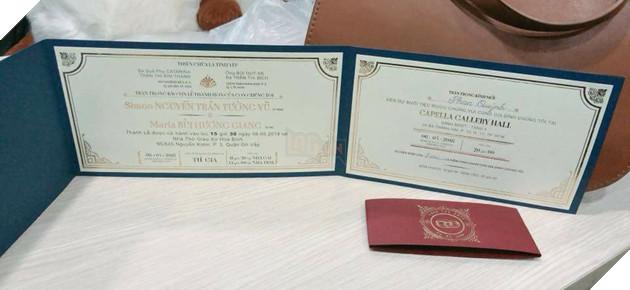"""Lộ diện tấm thiệp mời cưới của chú rể QTV, ông chủ của FFQ chính thức """"Lấy Vợ bỏ cuộc chơi"""""""