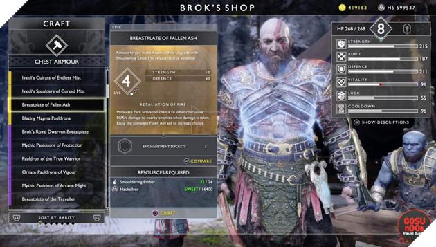 God of War: Top 10 bộ giáp-găng-đai tốt nhất cho Kratos 18