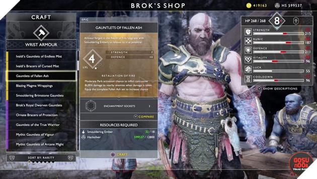 God of War: Top 10 bộ giáp-găng-đai tốt nhất cho Kratos 19