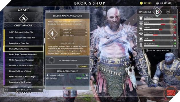 God of War: Top 10 bộ giáp-găng-đai tốt nhất cho Kratos 22