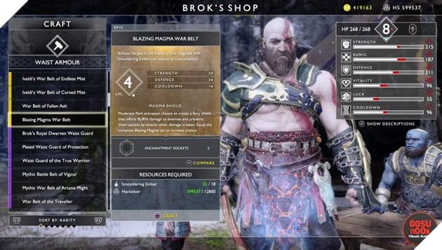 God of War: Top 10 bộ giáp-găng-đai tốt nhất cho Kratos 24