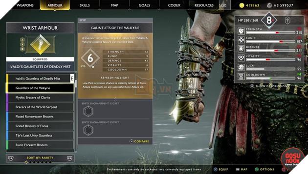 God of War: Top 10 bộ giáp-găng-đai tốt nhất cho Kratos 27