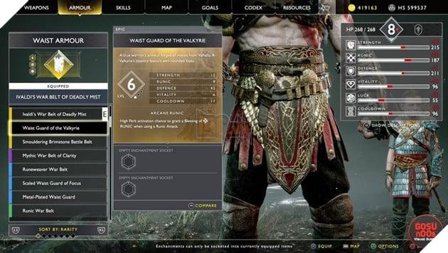 God of War: Top 10 bộ giáp-găng-đai tốt nhất cho Kratos 28
