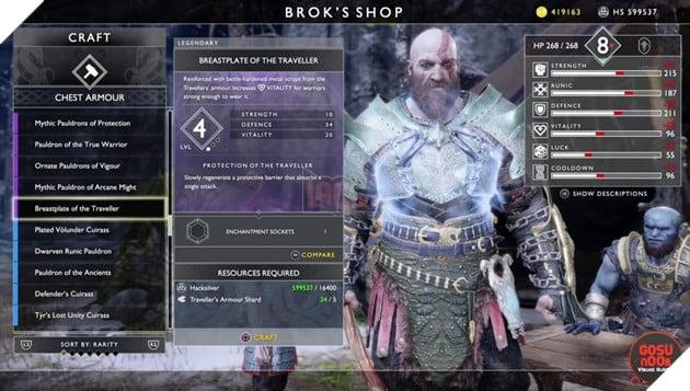God of War: Top 10 bộ giáp-găng-đai tốt nhất cho Kratos 30