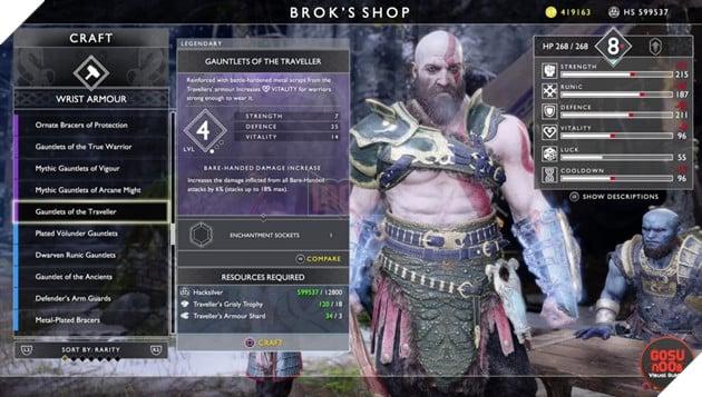 God of War: Top 10 bộ giáp-găng-đai tốt nhất cho Kratos 31