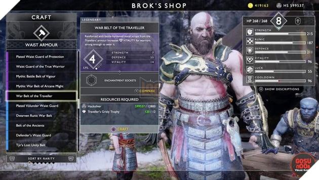 God of War: Top 10 bộ giáp-găng-đai tốt nhất cho Kratos 32