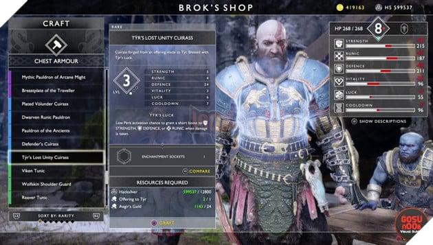 God of War: Top 10 bộ giáp-găng-đai tốt nhất cho Kratos 34