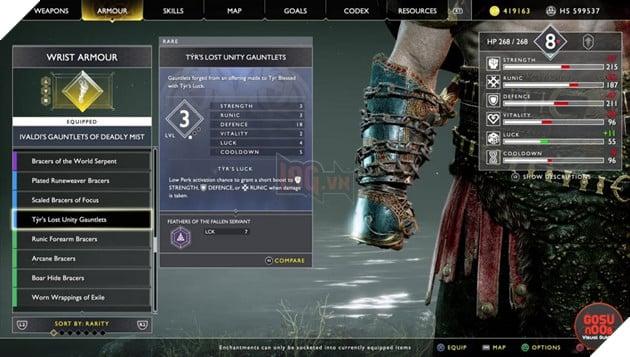 God of War: Top 10 bộ giáp-găng-đai tốt nhất cho Kratos 35
