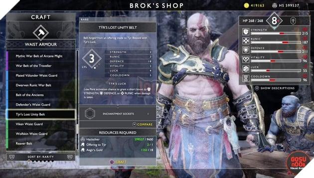 God of War: Top 10 bộ giáp-găng-đai tốt nhất cho Kratos 36
