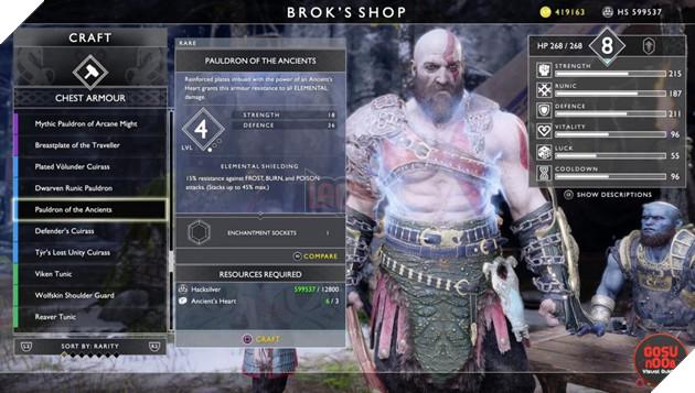 God of War: Top 10 bộ giáp-găng-đai tốt nhất cho Kratos 38
