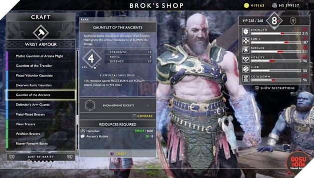 God of War: Top 10 bộ giáp-găng-đai tốt nhất cho Kratos 39