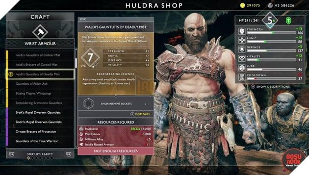 God of War: Top 10 bộ giáp-găng-đai tốt nhất cho Kratos 3