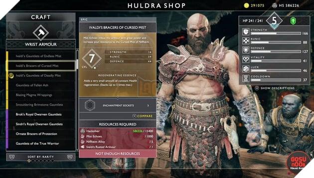 God of War: Top 10 bộ giáp-găng-đai tốt nhất cho Kratos 7