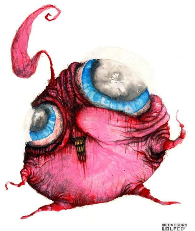 Ngắm chân dung các loài Pokemon được vẽ theo phong cách kinh dị, số 4 khiến fan IT khiếp vía - Ảnh 6.