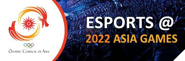 Thể thao điện tử chính thức trở thành một môn thi đấu tại Á Vận hội 2022