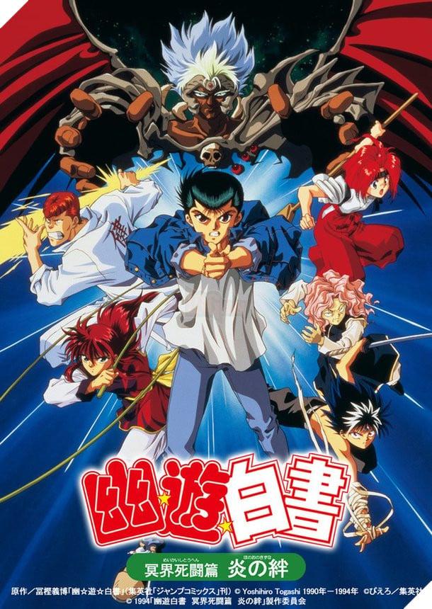 Nhất Dương Chỉ - Yu Yu Hakusho - vừa thông báo tung ra 2 tập Anime mới toanh trong tháng 10 năm nay