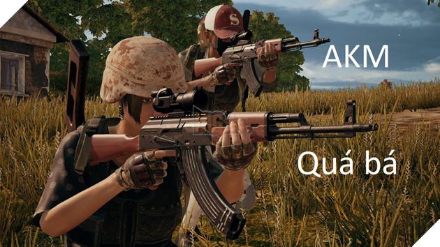 PUBG: AKM được tăng sức mạnh nhờ các khẩu AR còn lại bị nerf quá thảm
