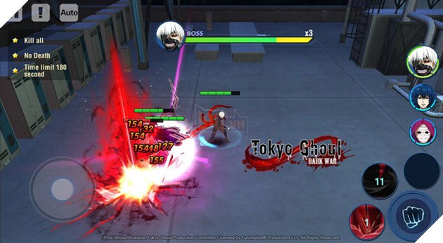 """Tokyo Ghoul: Dark War - """"Ngạ Quỷ"""" phiên bản di động đã ra mắt toàn cầu"""
