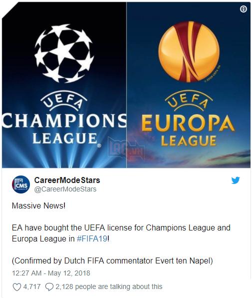 """FIFA 19 tung đòn hạ """"knock out"""" PES, người hâm mộ lại thêm một lần đau"""