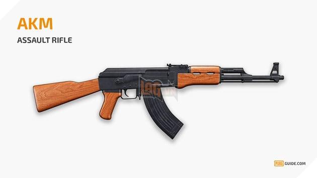 PUBG Mobile China - tổng hợp những loại súng mạnh được sử dụng nhiều nhất trong Game