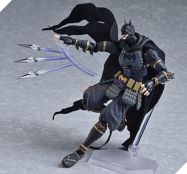 Batman trong vai một chiến binh Nhật Bản: Siêu ngầu và đẹp không tì vết