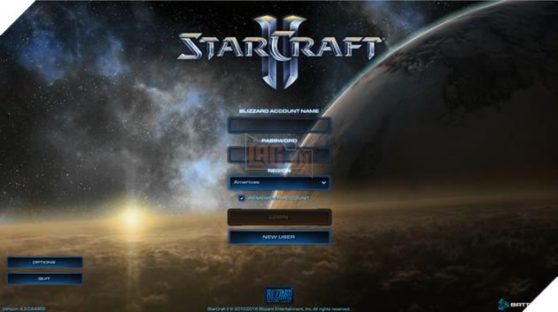Đăng nhập một lần nữa bằng tài khoản Blizzard