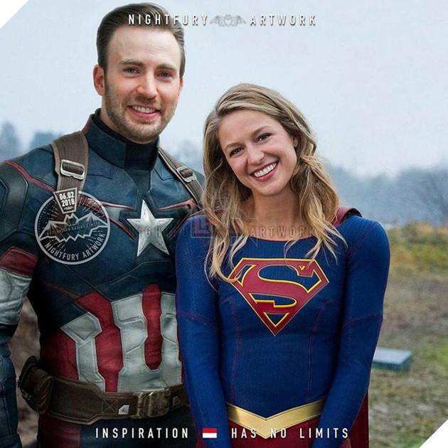 """Sau khi xem loạt ảnh này bạn sẽ ước Marvel và DC """"góp gạo thổi cơm chung"""" đấy"""