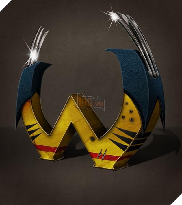 Độc đáo bảng chữ cái lấy cảm hứng từ các nhân vật trong Marvel và DC comic