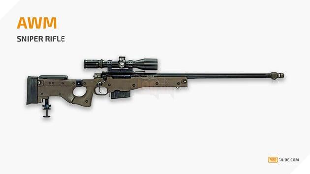 PUBG: Tìm hiểu về AWM - khẩu súng bắn tỉa vô địch trong PUBG 2