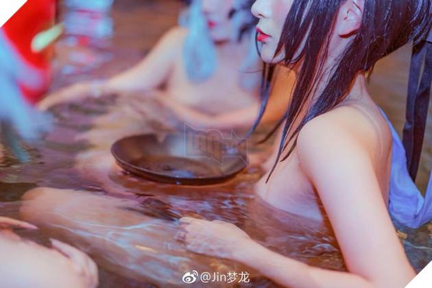 Cùng ngắm nhìn dàn mĩ nhân cosplay Âm Dương Sư cùng nhau...tắm suối nước nóng 6