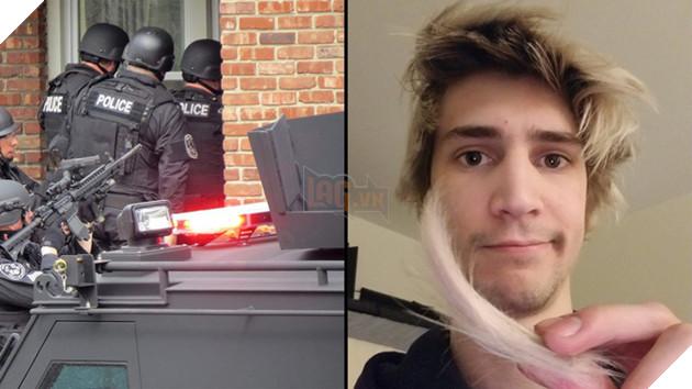 Nam streamer xQc mới bị cảnh sát ghé thăm khi đang chơi game phát sóng trên Twitch TV