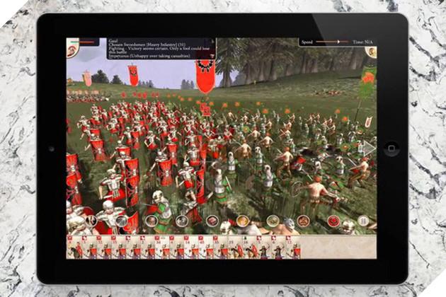 Không ngờ iPad đã có thể chơi được tựa game chiến thuật siêu khủng này