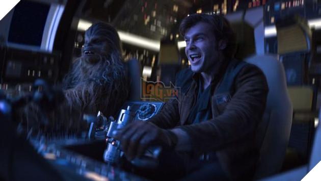 Nụ cười củaHan Solocũng khó lòng cứu vãn doanh thuSolo: A Star Wars Story