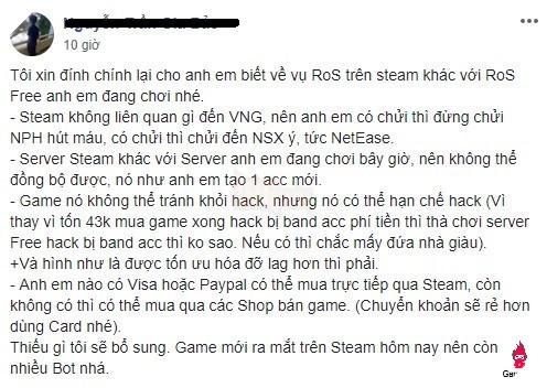 steam3 Game thủ Việt nghĩ gì về Rules of Survival khi lên Steam: Ít hack hơn hẳn, bù lại quá nhiều bot 5