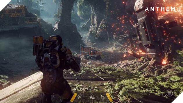 Ở E3,người hâm mộAnthemsẽ được trải nghiệm cơ chế chiến đấu của game