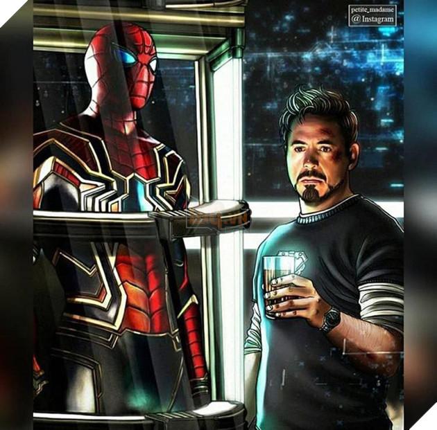 Cái chết của Spider-Man thật sự là một cú sốc lớn đối với Iron-Man. Anh yêu quý Peter, coi cậu như học trò nhỏ của mình, và chính anh là người dẫn dắt đưa Peter tham gia vào thế giới siêu anh hùng Marvel. Khi cậu chưa hết hào hứng khi được tham gia đội Avengers thì đã phải chết một cách đau đớn, thật sự điều này khiến cho Tony cảm thấy mất mát đau đớn rất nhiều.