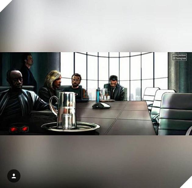 Đội Avengers oai hùng nay còn đâu? Những người ra đi để lại cho những người ở lại sự trống vắng, hụt hẫng hơn bao giờ hết. Khung cảnh đông đủ trước kia giờ chỉ còn lại một vài thành viên, sự mất mát này không biết bao giờ mới có thể nguôi ngoai.