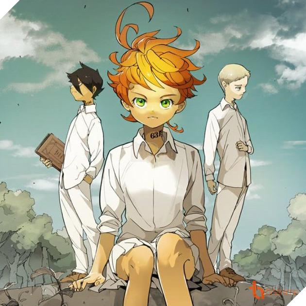 THE PROMISED NEVERLAND - Manga siêu hack não chuẩn bị được chuyển thể thành Anime 3