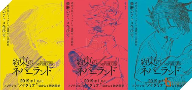 THE PROMISED NEVERLAND - Manga siêu hack não chuẩn bị được chuyển thể thành Anime