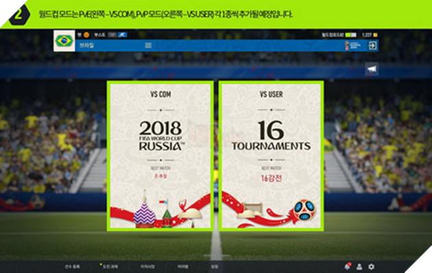 FIFA Online 4 chính thức ra mắt chế độ chơi World Cup tại Hàn Quốc 2