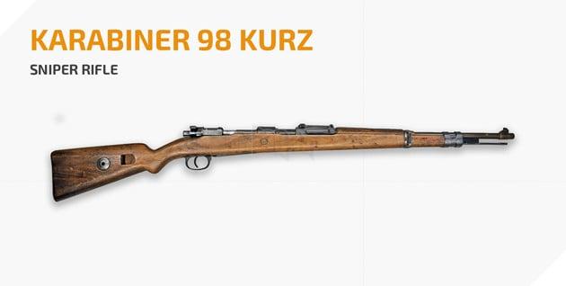 PUBG: Tìm hiểu về Kar98k - Khẩu SR phải biết bắn trong game